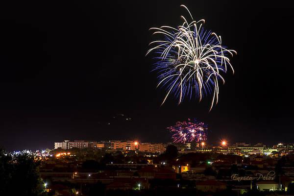 Photograph - Fireworks Albenga 2013 3765 - Ph Enrico Pelos by Enrico Pelos