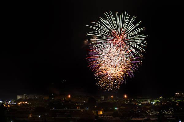 Photograph - Fireworks Albenga 2013 3808 - Ph Enrico Pelos by Enrico Pelos