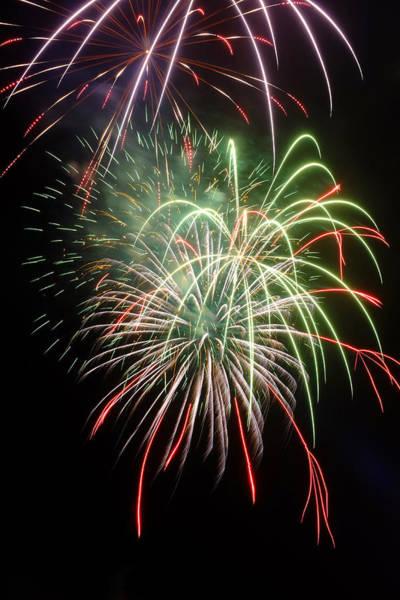 Photograph - Fireworks by Fabrizio Troiani