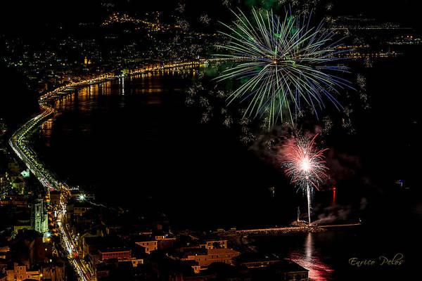 Photograph - Fireworks Laigueglia 2013 3182 - Ph Enrico Pelos by Enrico Pelos