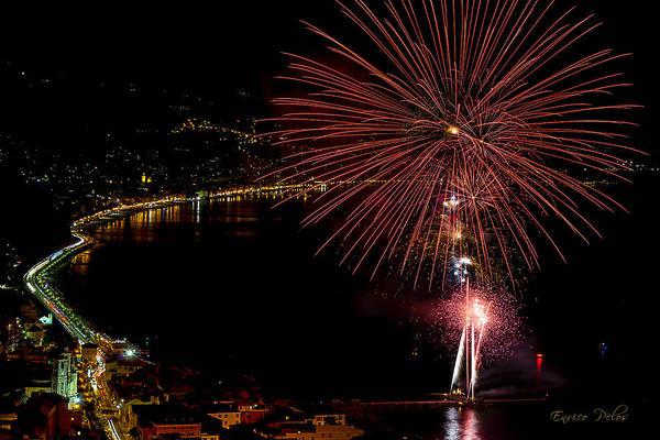 Photograph - Fireworks Laigueglia 2013 3184 - Ph Enrico Pelos by Enrico Pelos