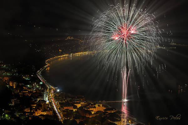 Photograph - Fireworks Laigueglia 2013 3217d - Ph Enrico Pelos by Enrico Pelos