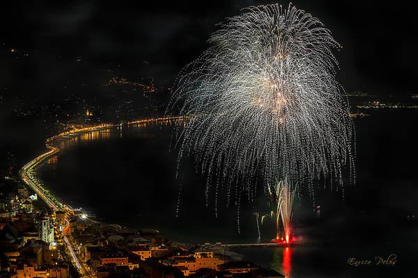 Photograph - Fireworks Laigueglia 2013 3221 - Ph Enrico Pelos by Enrico Pelos