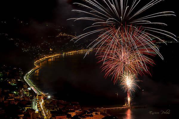 Photograph - Fireworks Laigueglia 2013 3239 - Ph Enrico Pelos by Enrico Pelos