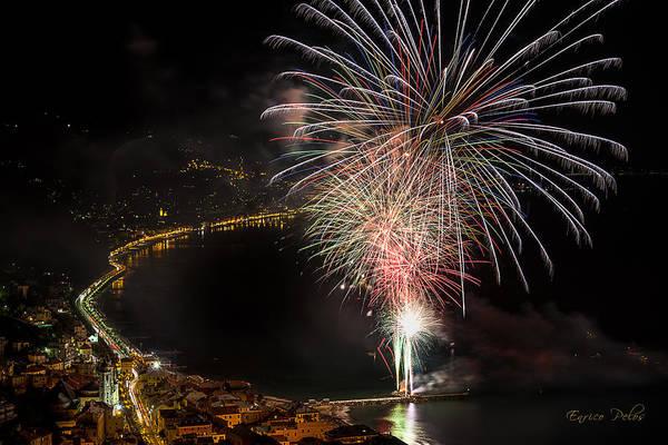 Photograph - Fireworks Laigueglia 2013 3242 - Ph Enrico Pelos by Enrico Pelos