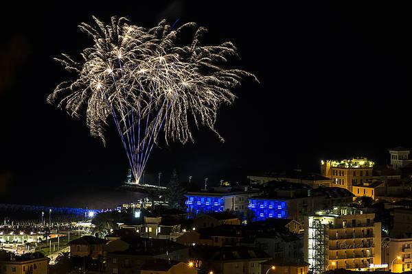 Photograph - Fireworks Loano 2013 3323 - Ph Enrico Pelos by Enrico Pelos
