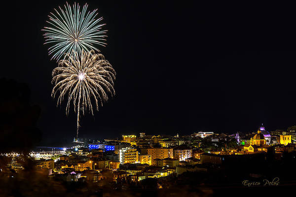 Photograph - Fireworks Loano 2013 3335 - Ph Enrico Pelos by Enrico Pelos