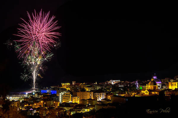 Photograph - Fireworks Loano 2013 3353 - Ph Enrico Pelos by Enrico Pelos