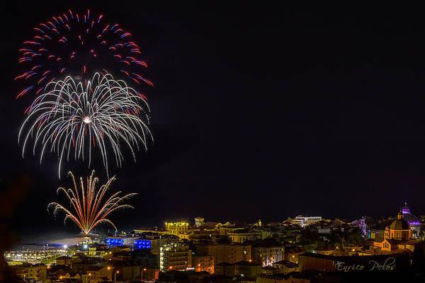 Photograph - Fireworks Loano 2013 3374 - Ph Enrico Pelos by Enrico Pelos