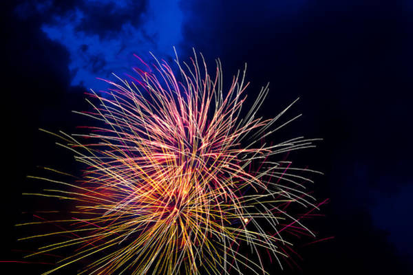 Usa Wall Art - Photograph - Fireworks On The Fourth by Frank Savarese
