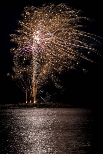 Photograph - Fireworks San Lorenzo Al Mare 2013 1935 - Ph Enrico Pelos by Enrico Pelos