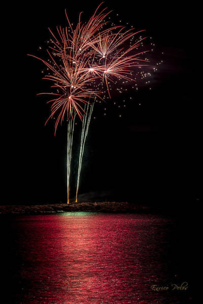 Photograph - Fireworks San Lorenzo Al Mare 2013 1942 - Ph Enrico Pelos by Enrico Pelos