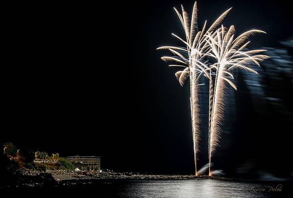 Photograph - Fireworks San Lorenzo Al Mare 2013 1954 - Ph Enrico Pelos by Enrico Pelos