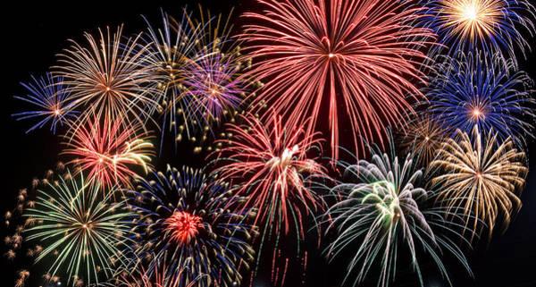 Bang Photograph - Fireworks Spectacular IIi by Ricky Barnard