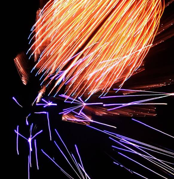 Wall Art - Photograph - Fireworks Up Close by Dan Sproul