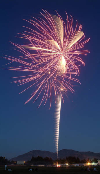 Photograph - Fireworks by Wesley Elsberry