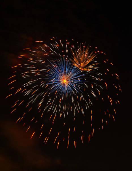 Digital Art - Fireworks1 by Chris Flees