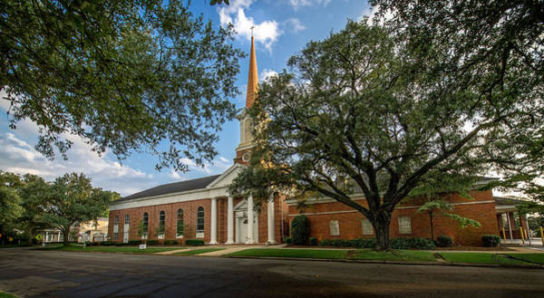 Photograph - First Baptist Of Georgetown II by Mike Covington