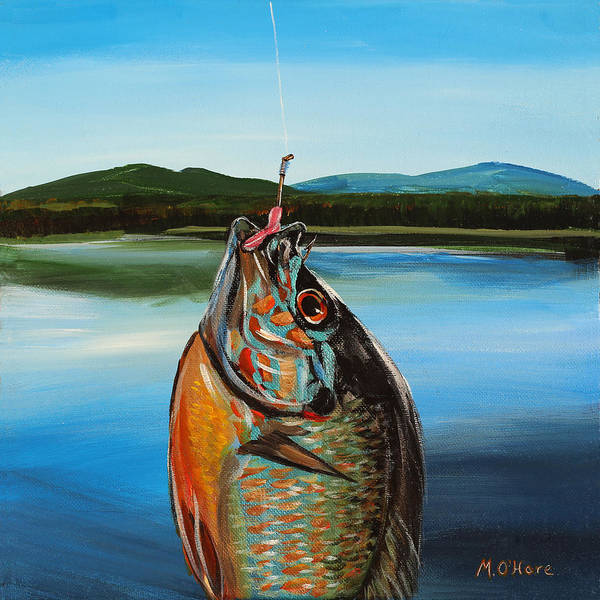 Painting - First Catch by Meghan OHare