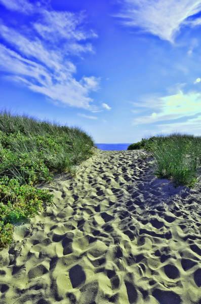 Encounter Bay Photograph - First Encounter Beach Eastham by Allen Beatty