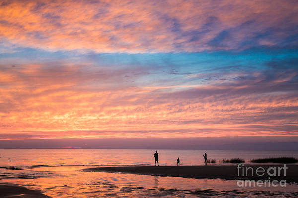 Photograph - First Encounter Beach Sunset by Susan Cole Kelly