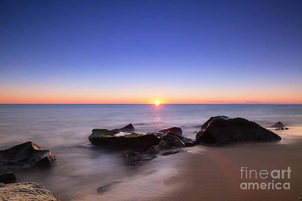 Sandy Hook Wall Art - Photograph - First Light At Sandy Hook Nj by Michael Ver Sprill