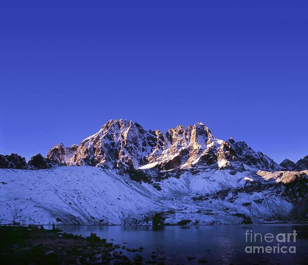Gokyo Photograph - First Light Himalayas by Tim Hester