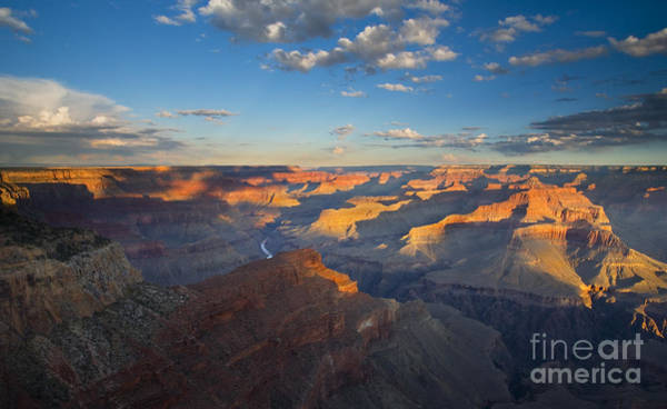 Grand Canyon Photograph - First Light On The Colorado by Mike  Dawson