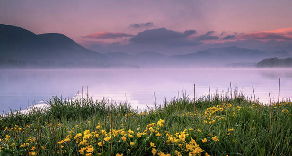 Ullswater Photograph - First Light On Ullswater by John Lever Photography.