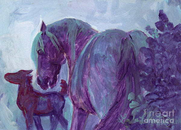 Painting - First Night by Linda L Martin