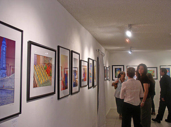 Photograph - First One-man Art Show by Chuck Staley