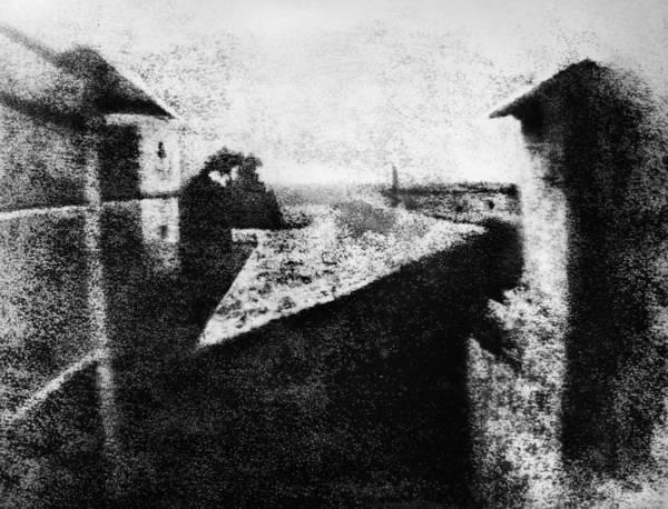 Wall Art - Photograph - First Photograph, C1826 by Granger