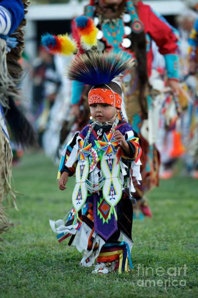 Powwow Wall Art - Photograph - First Powwow by Chris Brewington Photography LLC