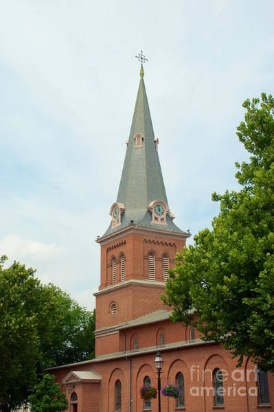 Photograph - First Presbyterian Church Of Annapolis Steeple  by Mark Dodd