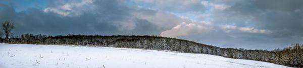 Photograph - First Snow Across A Farm Field by Chris Bordeleau