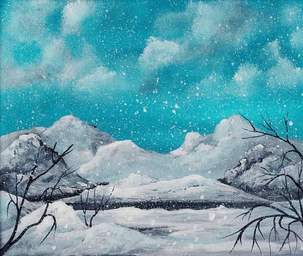 Painting - First Snow by Anastasiya Malakhova