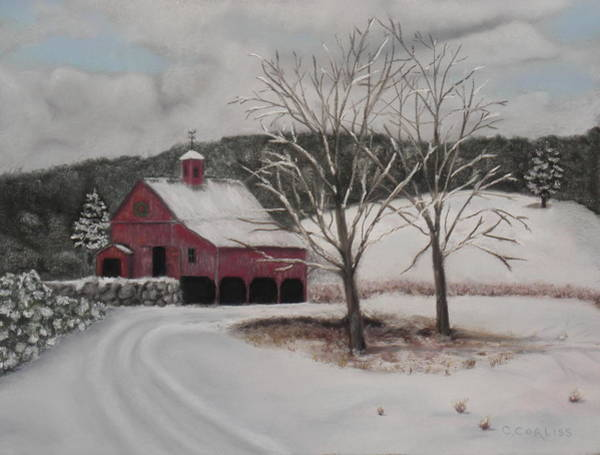 Pastel - First Snow by Carol Corliss