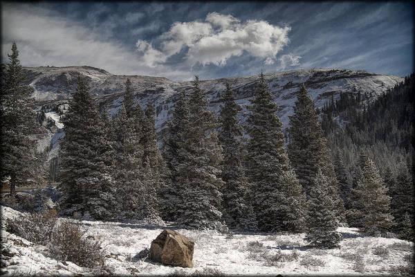 Photograph - First Snow by Erika Fawcett