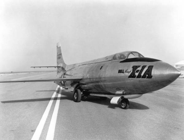 Notable Photograph - First Supersonic Aircraft, Bell X-1 by Science Source