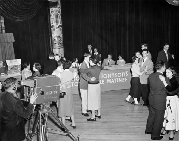Appearance Photograph - First Televised Record Hop by Underwood Archives