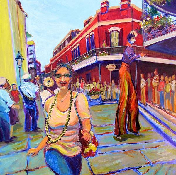 Painting - First Trip To New Orleans by Jeanette Jarmon