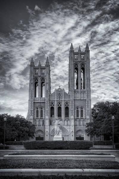 Photograph - First United Methodist Church Fort Worth II by Joan Carroll