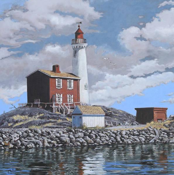 Painting - Fisgard Light by Rob Owen