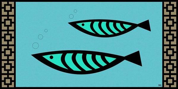 Digital Art - Fish 2 by Donna Mibus