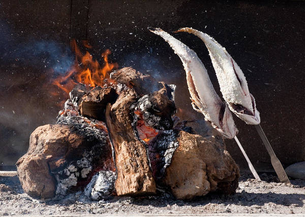 Photograph - Fish Bbq by Paul Indigo