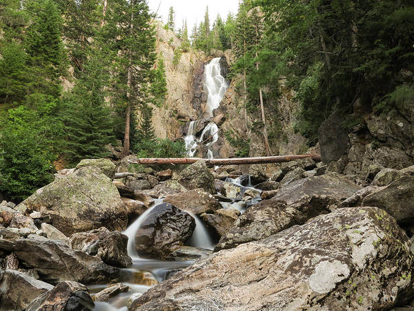 Photograph - Fish Creek Falls by Kevin  Dietrich