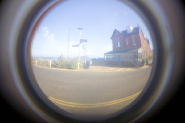 Fish Eye Lens Photograph - Fish Eye Effect by Tom Gowanlock