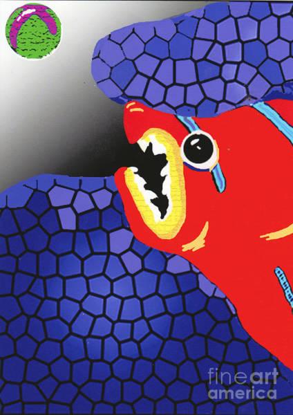 Mixed Media - Fish Food by Bill Thomson