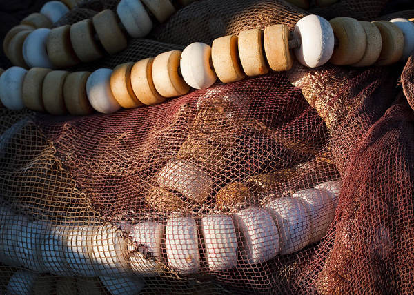 Photograph - Fish Nets by Paul Indigo