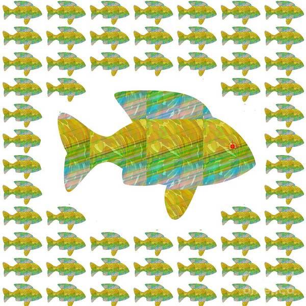 Promotion Mixed Media - Fish Poisson  Exotic Exotique Speed Delicacy Delicatesse Delicacy Graphic Digital Numerique Graphiqu by Navin Joshi